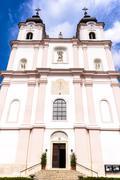Pilgrimage church, Maria Dreieichen, Lower Austria, Austria Stock Photos