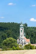 cistercian monastery in Zwettl, Lower Austria, Austria - stock photo