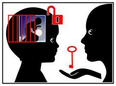 Child Psychiatry Stock Illustration