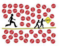 Successful Childhood Education Stock Illustration