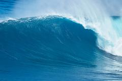 Giant Ocean Wave - stock photo