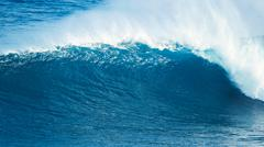 Powerfull Ocean Wave - stock photo