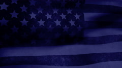 The American flag blows in the wind - Old Glory 0303 HD, 4K - stock footage