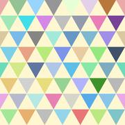 Vector mosaic pattern - seamless background. Stock Illustration