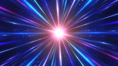 glowing Rays Background - stock footage