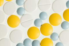 Stock Photo of Color pills