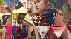 Dynamic Mosaic Triangle Stock After Effects