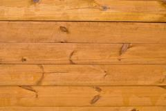 Yellow boards, a background Stock Photos