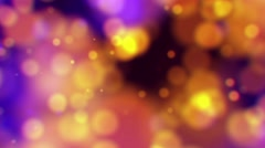 Light Circle Bokeh Background. 4K animation loop. abstract motion Stock Footage