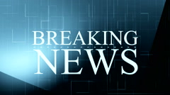 Breaking news background 7 - stock footage