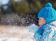 Classic joys of winter Stock Photos