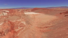 Atacama, Chile - August 22, 2015: Atacama desert, Chile Stock Footage