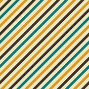 Retro seamless striped pattern Stock Illustration