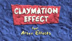 Stock After Effects of Claymation Effect