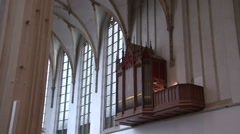 Church organ being played Arkistovideo