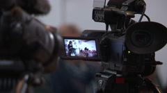 Professional film maker gear Stock Footage