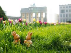 Stock Photo of Berlin, Brandenburg Gate, Easter