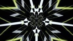 Abstract HD CGI Tunnel Loops Stock Footage