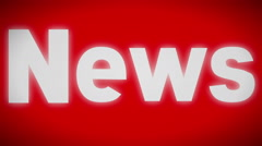 News sign. looping. - stock footage