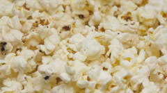 Popcorn In Rotation Stock Footage