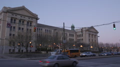 Baltimore City Public Schools Administrative Headquarters 1 Stock Footage