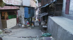 Street of Chamba Stock Footage
