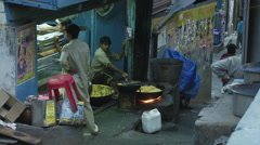 Chamba Street Food Stock Footage