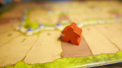 Defeating Opponent in Board Game - stock footage