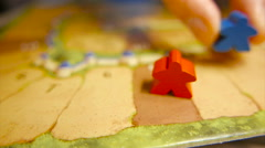 Board Gaming Stock Footage