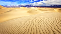 Death Valley Sand Dunes Timelapse Stock Footage