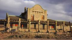 Rhyolite Ghost Town Building - stock footage