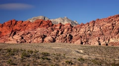 Red Rock Canyon in Las Vegas - stock footage