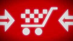 Sale icon. Looping. Stock Footage