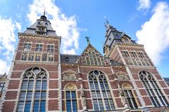 Stock Photo of Rijksmuseum, Dutch national museum ,1876-1885, in Amsterdam