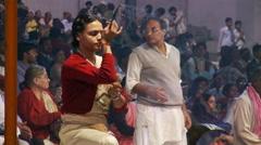 Brahmin Priest Bell ringers Stock Footage