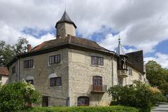 Castle Krautheim BadenWuerttemberg Germany Europe Stock Photos