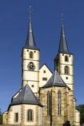Protestant town church Bad Wimpfen am Neckar BadenWuerttemberg Germany Europe Stock Photos