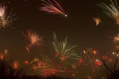 New Years Eve fireworks Wilhelmsburg Hamburg Kuvituskuvat