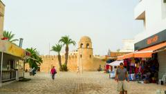 The old Sousse Stock Footage