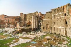 Antique Forum of Rome, Italy - stock photo