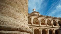 Monastery Of San Miguel De Los Reyes time lapse Stock Footage