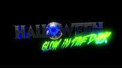 Halloween GID Loop 23 Stock Footage