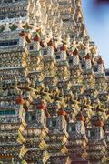 Wat Arun temple in Bangkok Thailand Stock Photos