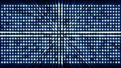 Bright flood lights panel Stock Footage