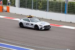 The Safety car. Formula One. Sochi Russia Stock Photos