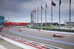 Daniel Ricciardo. Red Bull Racing. Formula One. Sochi Russia - stock photo