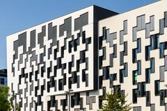 Institute for Statistics and Mathematics of Vienna University of Economics Stock Photos
