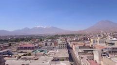 Arequipa volcano - stock footage