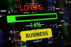 Loading business Stock Photos