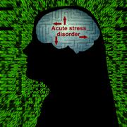 Acute stress disorder Stock Photos